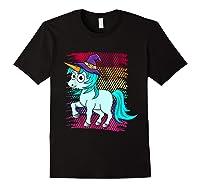 Halloween Unicorn Pride Colors Shirts Black