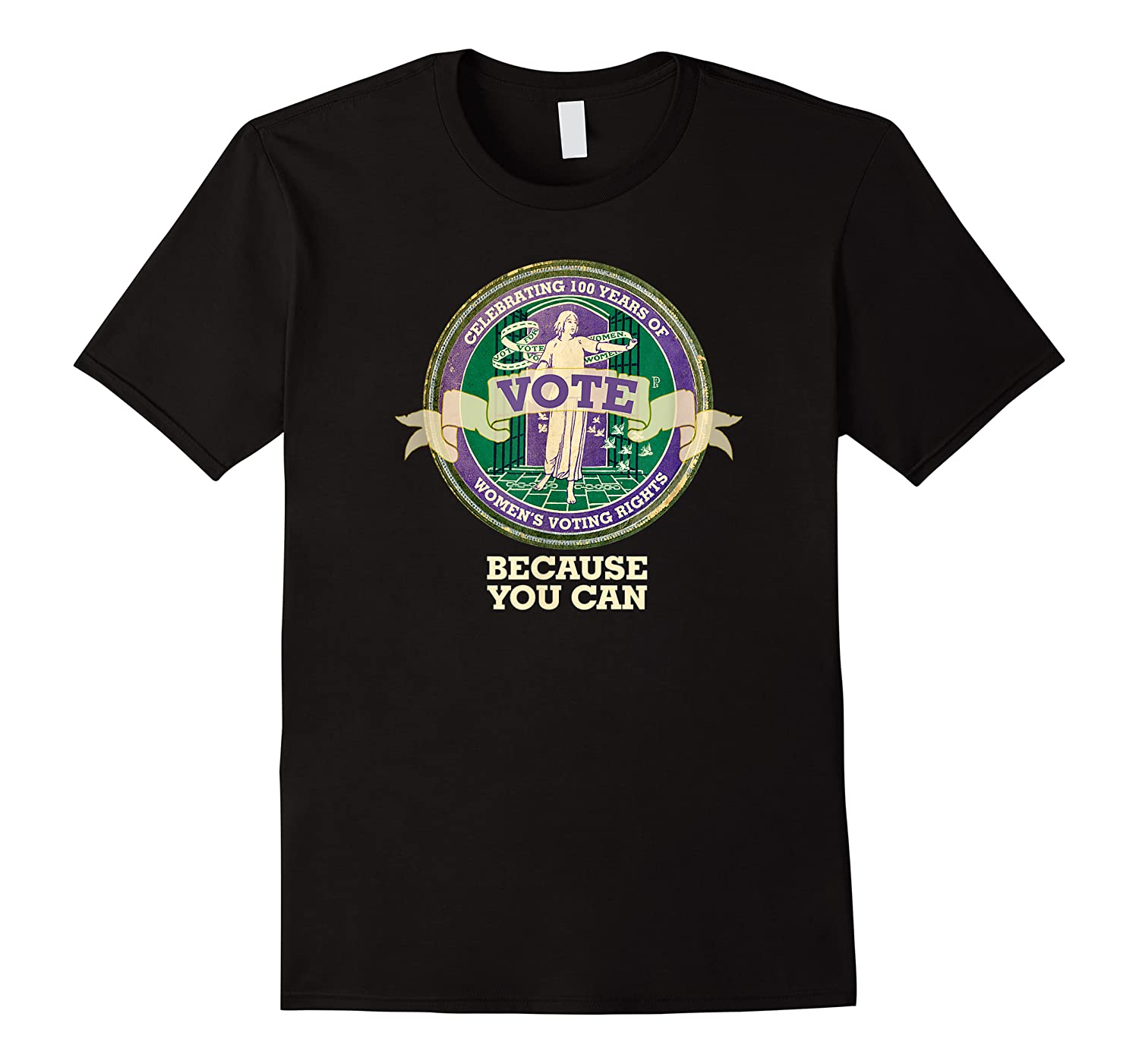 Suffragette Celebration 100 Years Women's Right To Vote Gift Shirts