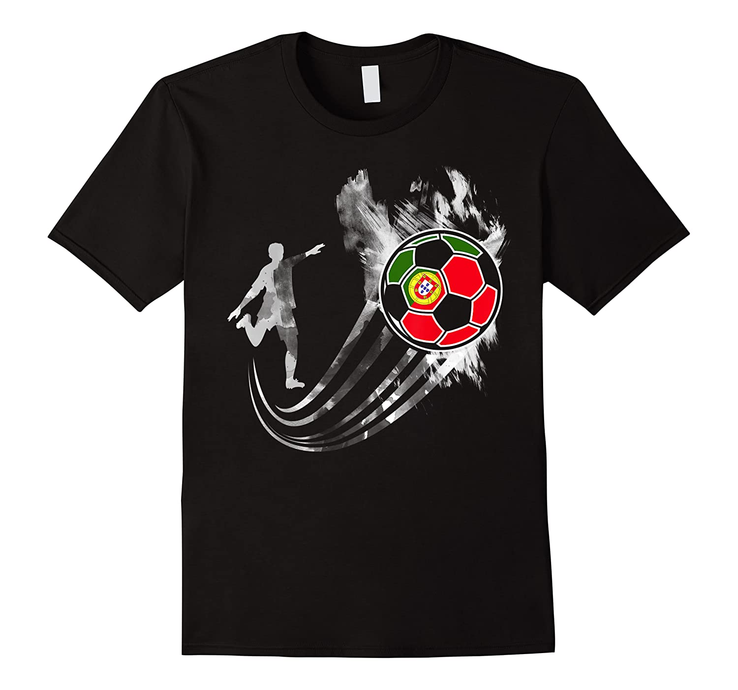 Portugal Soccer Team T-shirt For Fans And Players