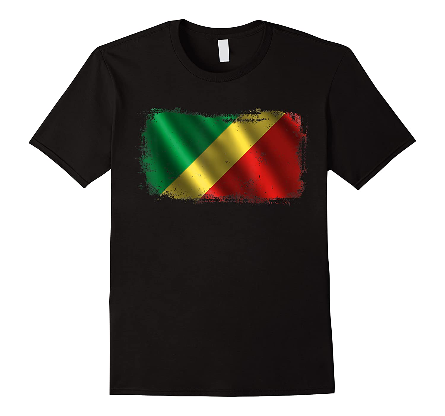 Republic Of The Congo Congolese National Flag Shirts