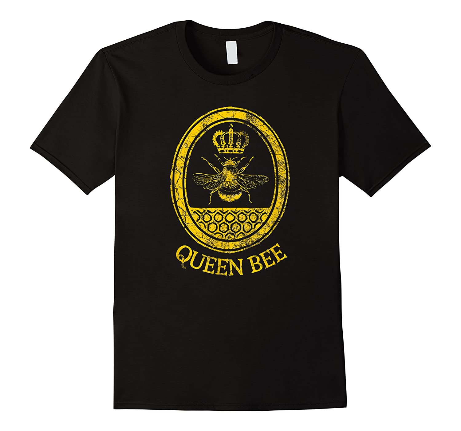 Queen Bee Vintage Beekeeper Mom Mother's Day Wife Gift Shirts