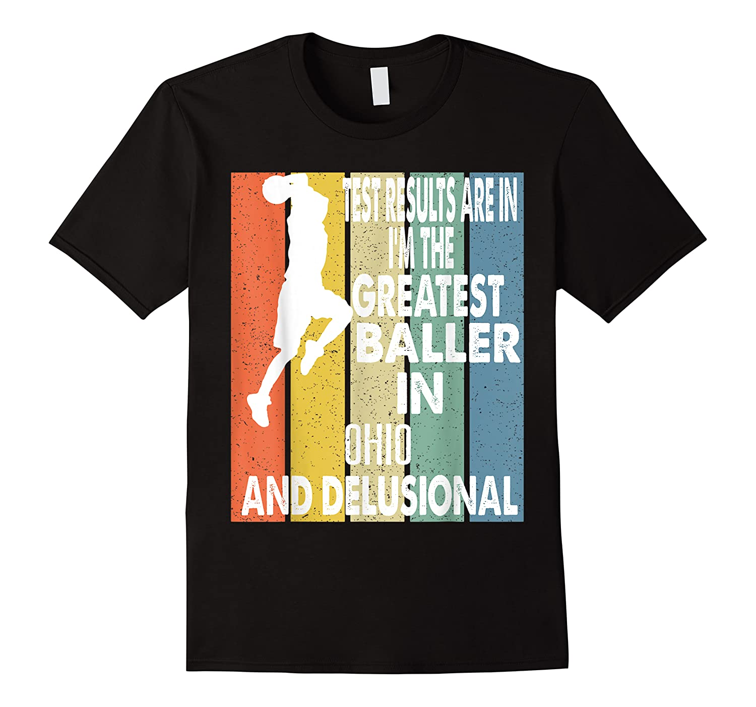 The Greatest Baller In Ohio Basketball Player T-shirt
