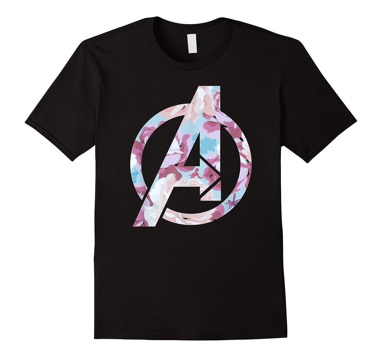 Avengers Logo Floral Super Hero Shirts