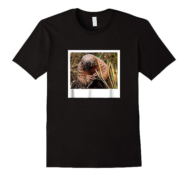 Pangolin Photo T-shirt Endangered Animal Species Gift Tee
