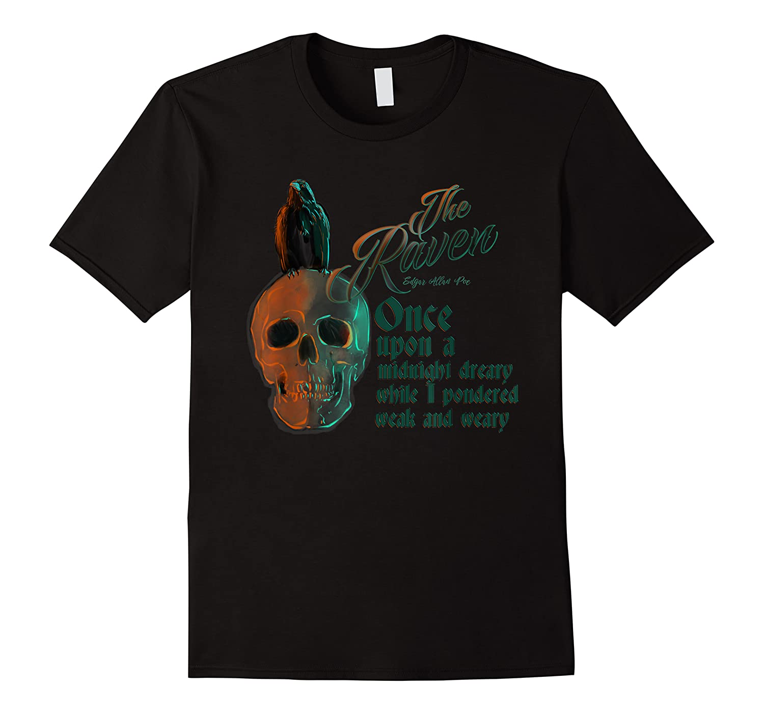The Raven, Edgar Poe, Fan Art T-shirts And Gifts T-shirt