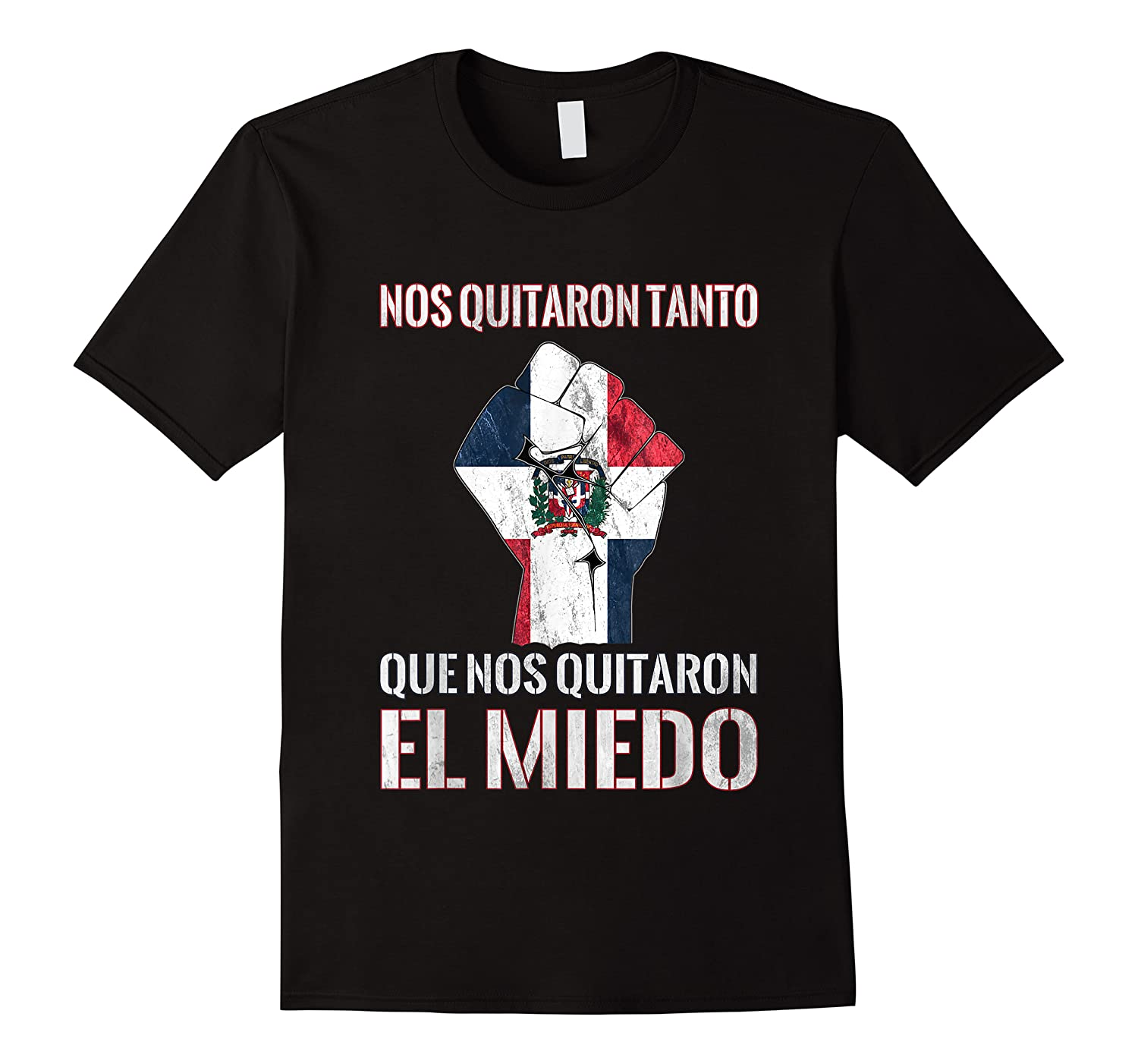 Dominican Republic Flag Fist Dominican Election 2020 Protest T-shirt