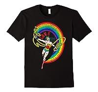 Wonder Woman Rainbow Love Shirts Black