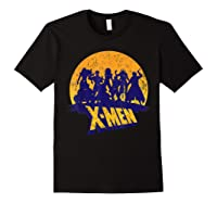 Marvel X- Logo And Mutants Classic T-shirt Black