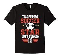 10th Birthday Soccer Birthday Boy Shirts Black