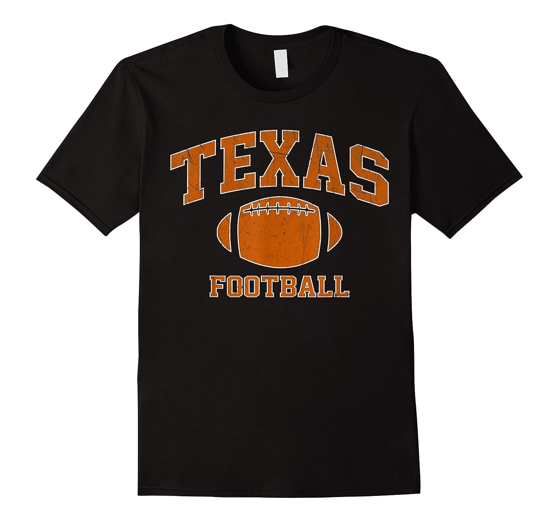 Texas Football - Tx Vintage Varsity Style T-shirt