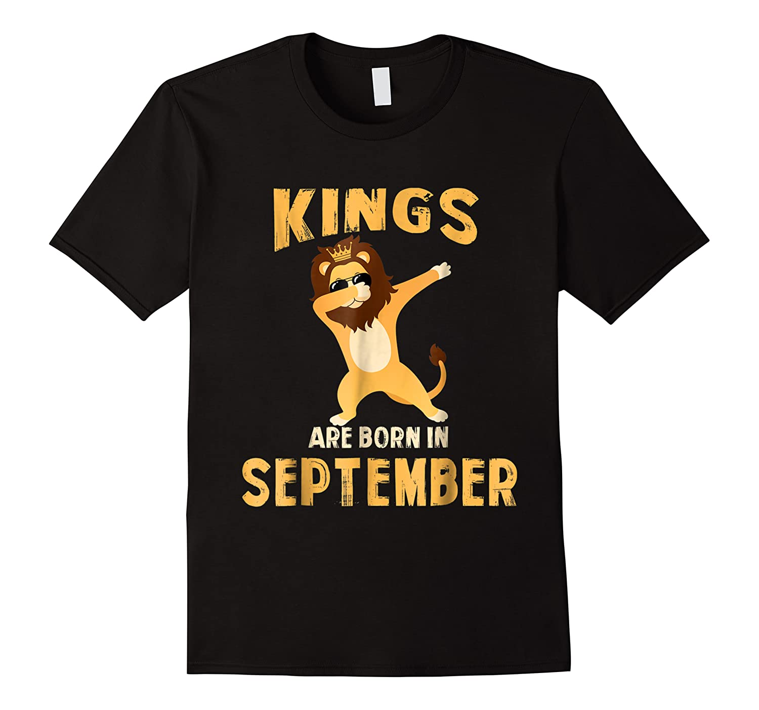 Cute King Are Born In September Birthday Gift Shirts
