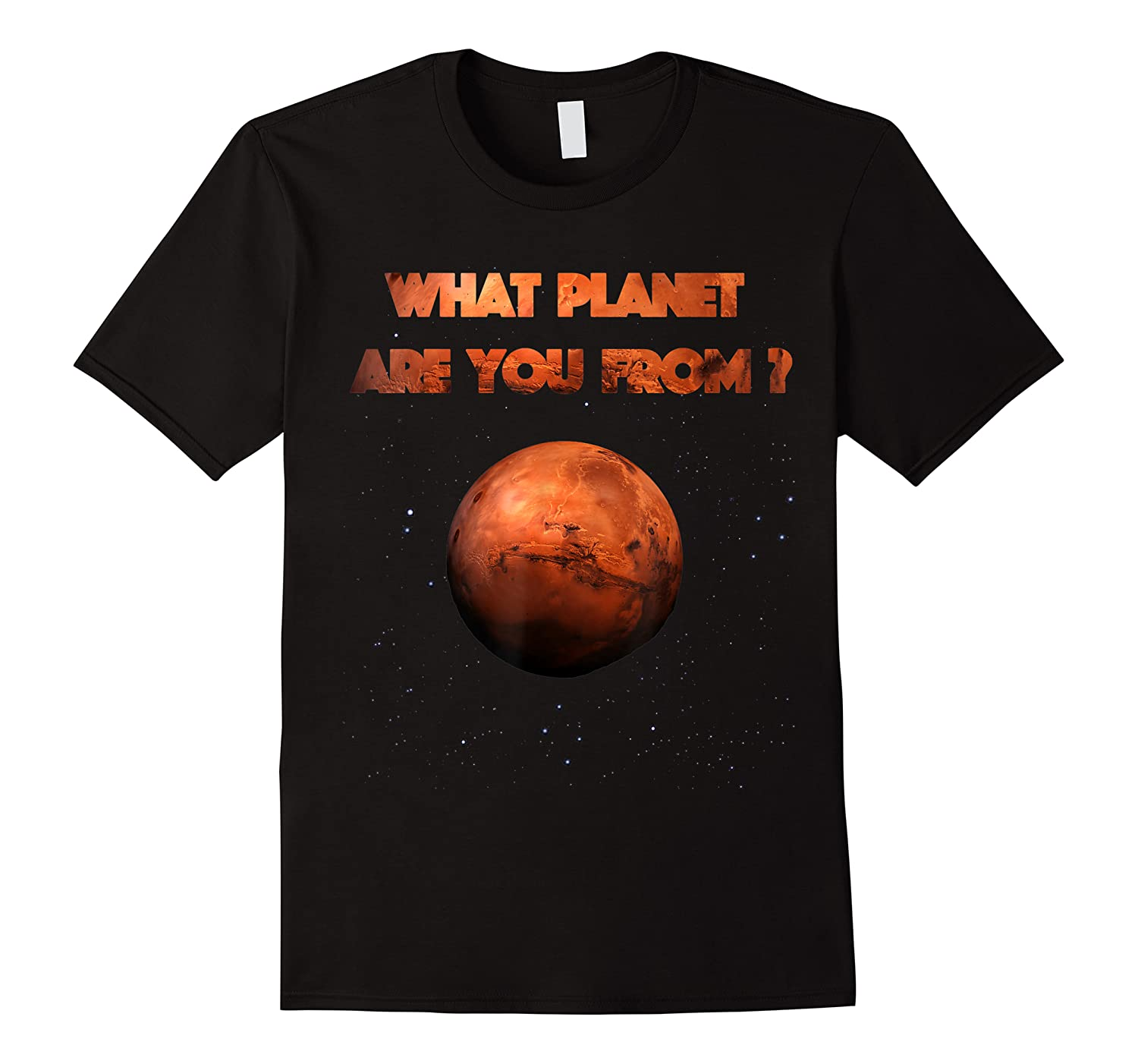 Planet Mars Planet In Solar System Shirts