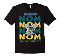 We Bare Bears Nom Nom Everyone's Tube Internet Celebrity Shirts Black