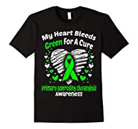 For A Cure Primary Sclerosing Cholangitis Awareness Shirts Black