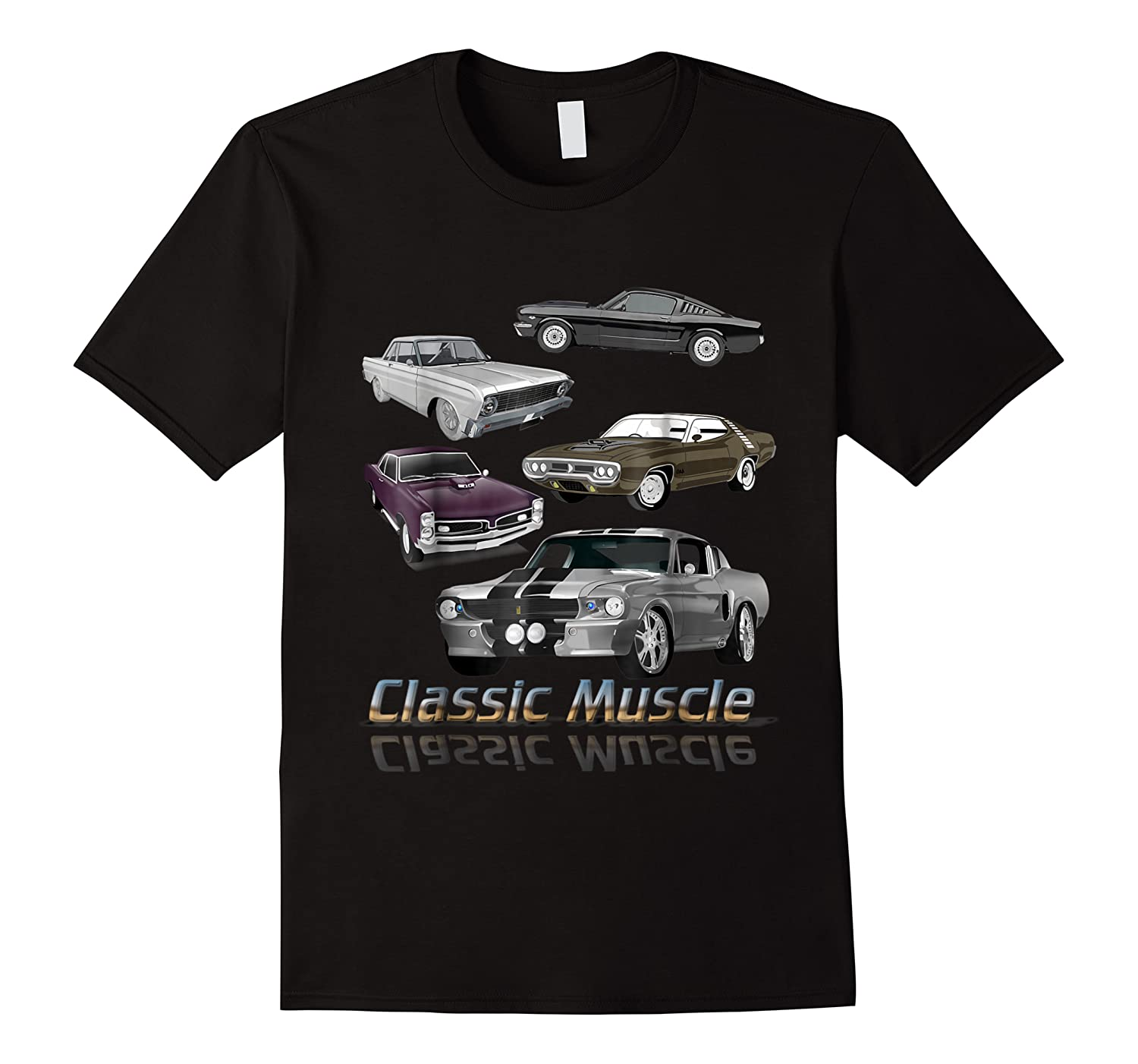 Classic American Muscle Cars Vintage Gift Shirts