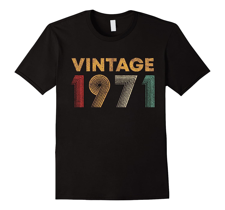 49th Birthday Gift Idea Vintage 1971 Shirts