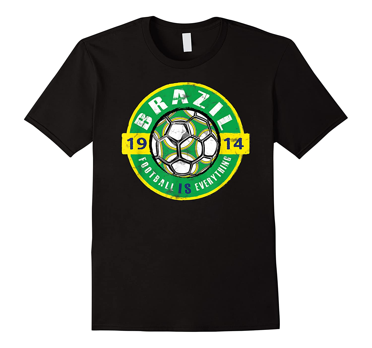 Football Is Everything - Brazil Vintage T-shirt