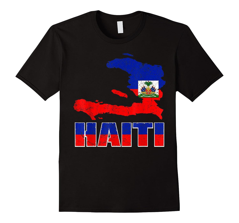 Vintage Haitian Flag I Love Haiti Shirts