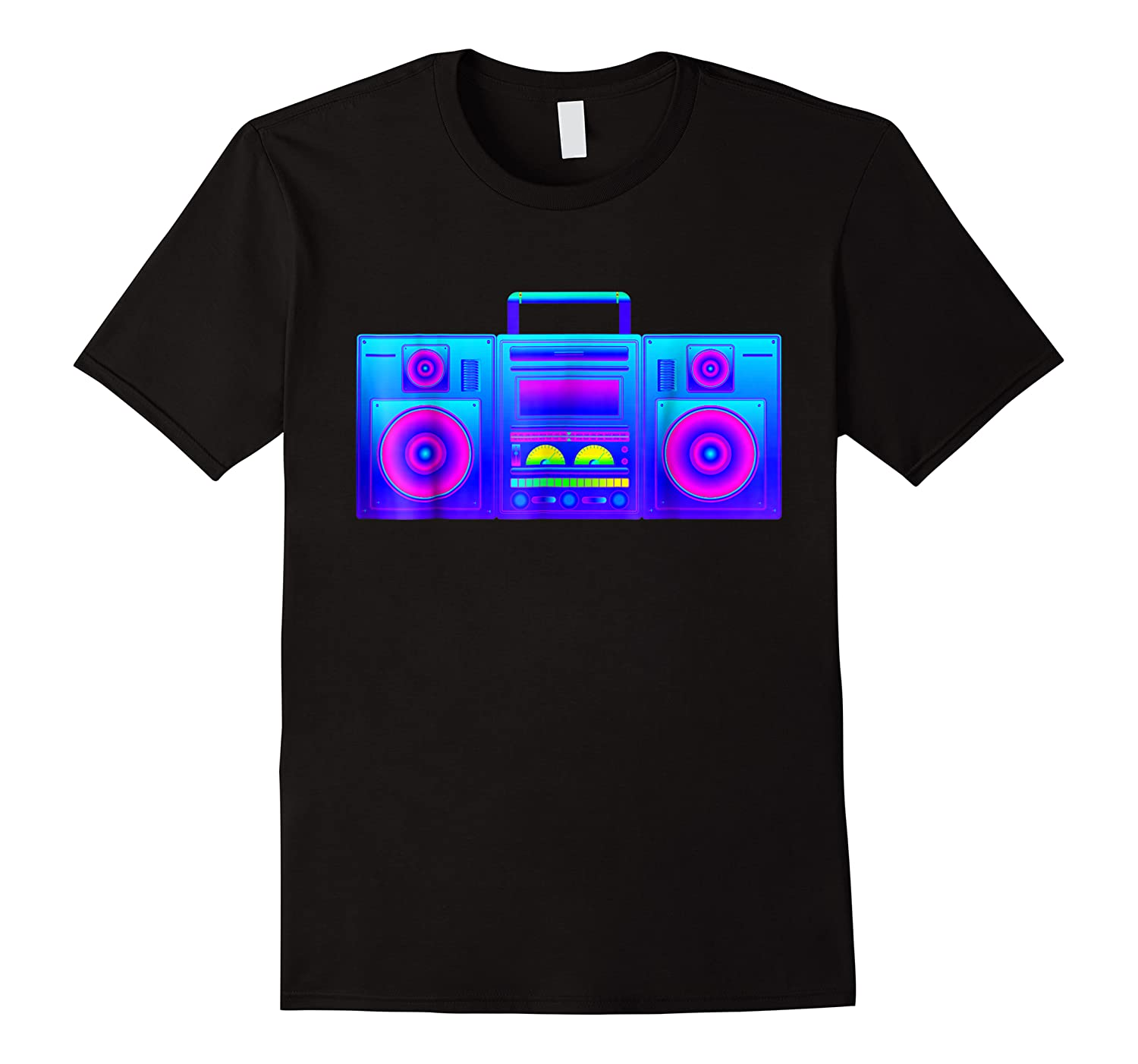 Boombox  Trippy Hip Hop Rave Shirts