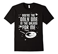 Star Trek Only One For Me Valentine's Day Graphic Shirts Black