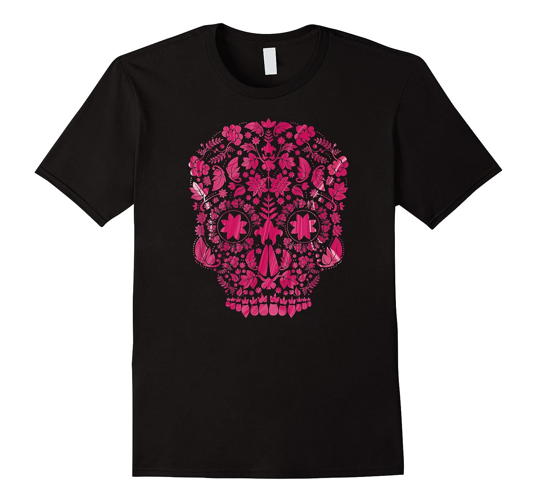 Pink Flower Skull Shirts