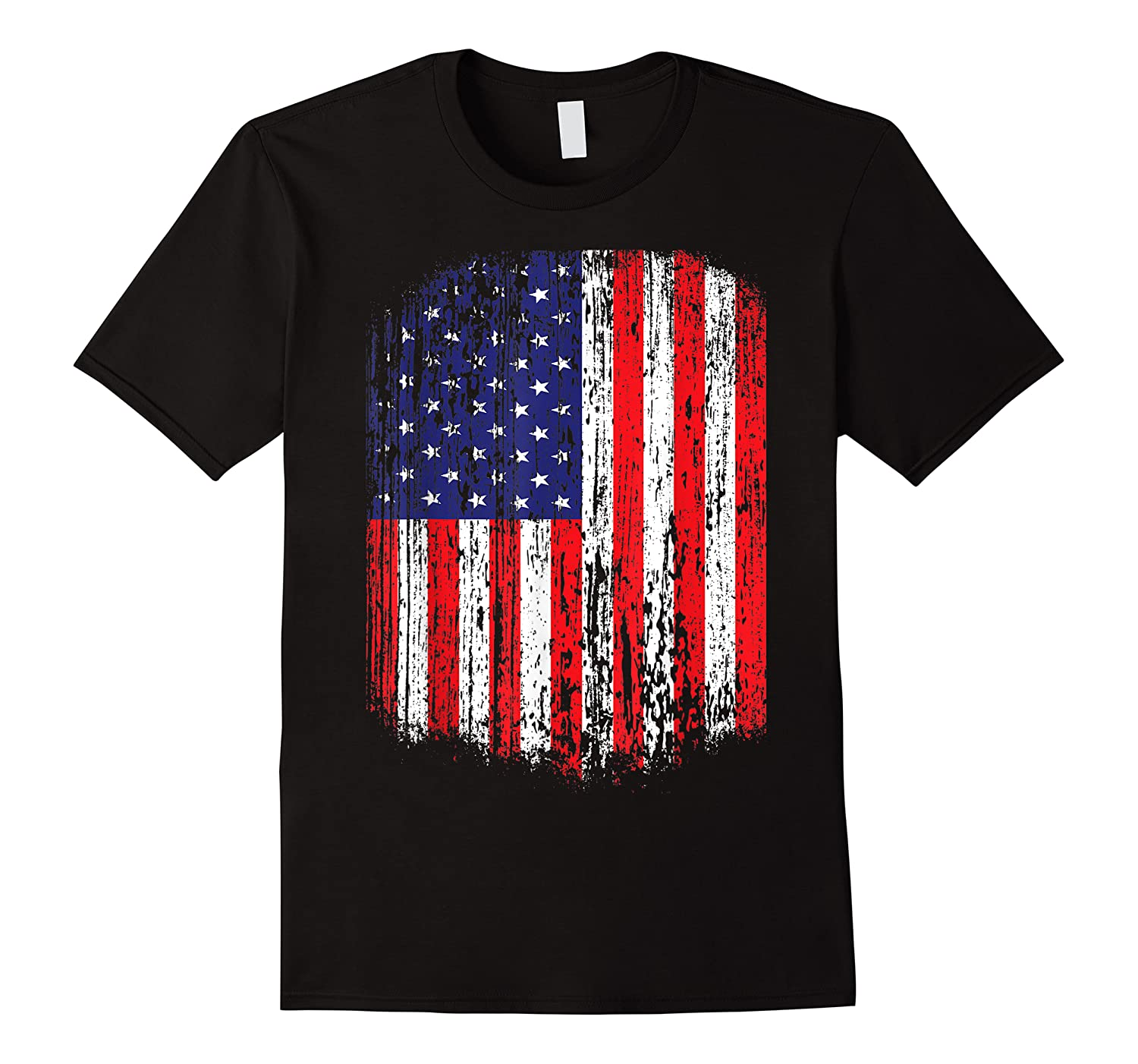 Distressed American Flag,  Patriotic Shirts