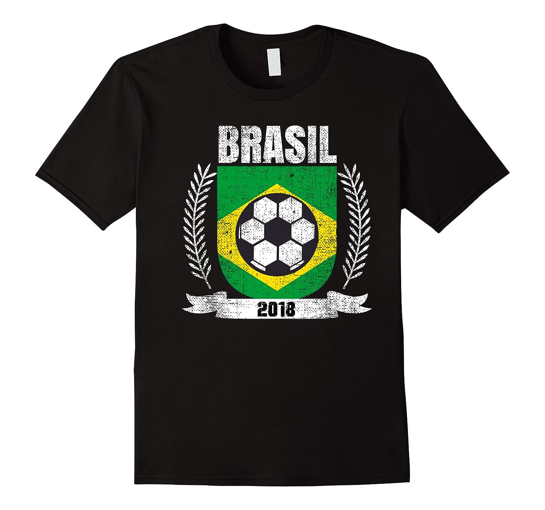 Brazilian 2018 Football Brazil Soccer Fan T-shirt