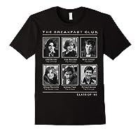 Breakfast Club Year Book Club Photos Graphic Shirts Black