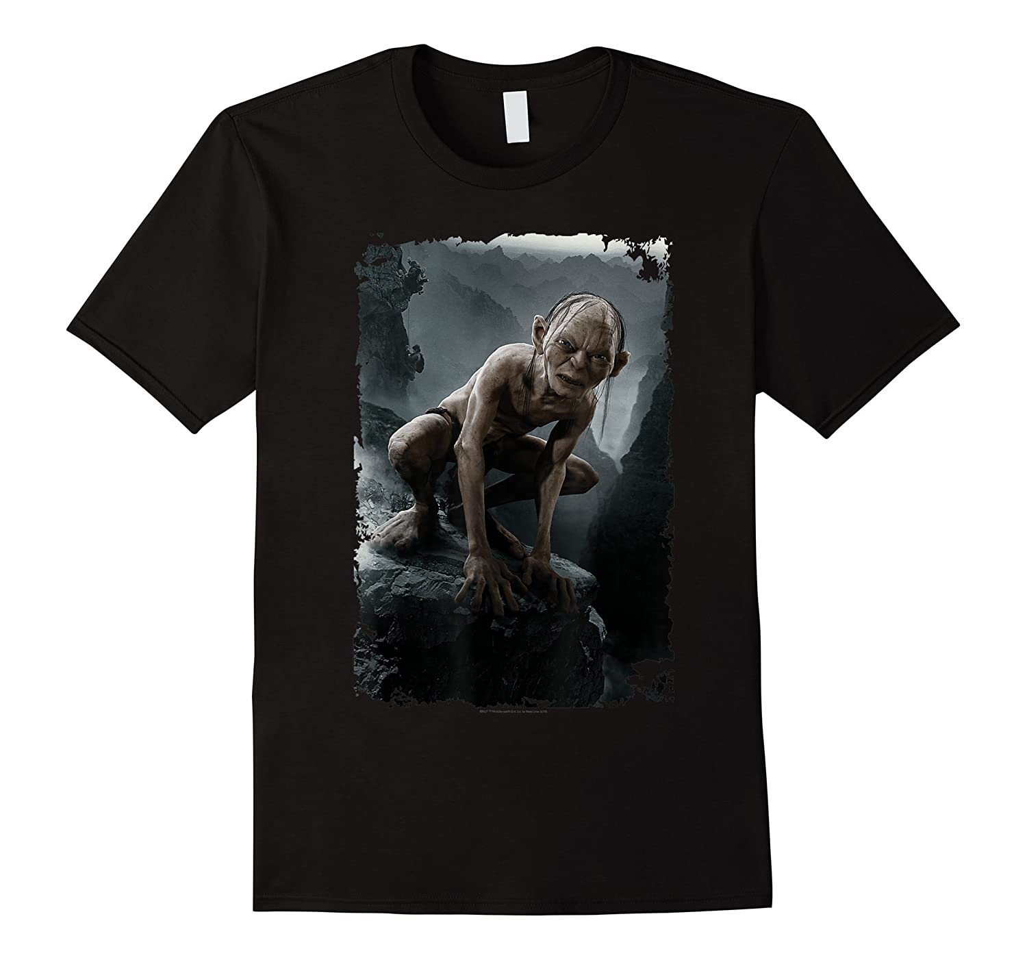 The Lord Of The Rings Gollum T-shirt