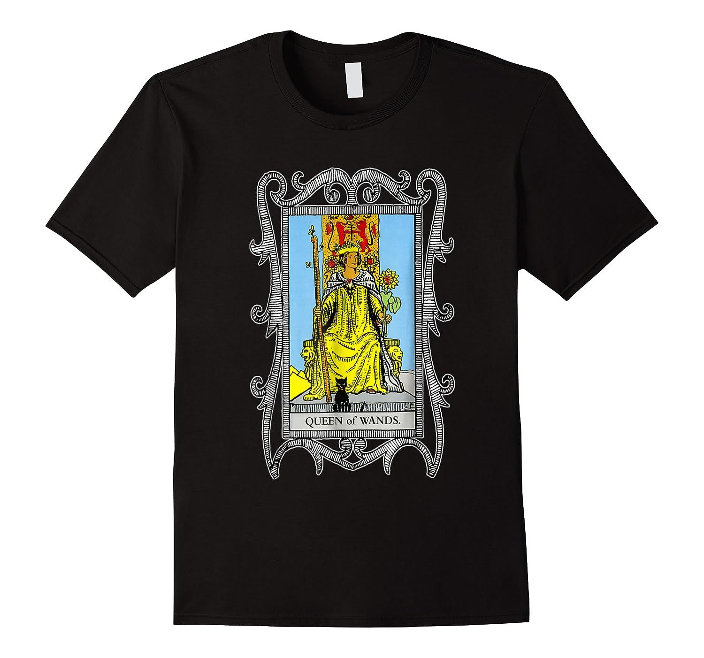 The Queen Of Wands Tarot T-shirt