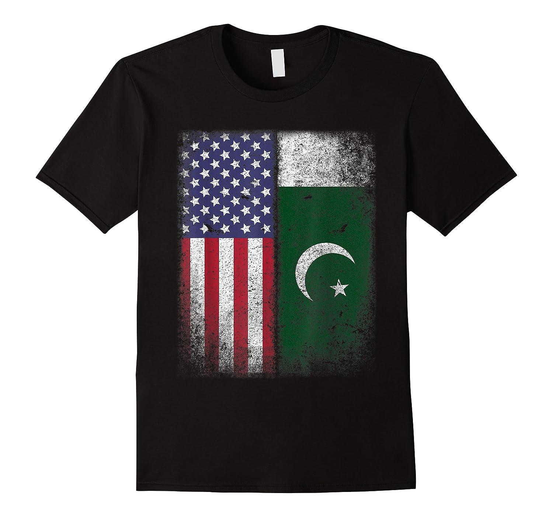 Pakistan Usa Pakistani American Flag Pride Shirts