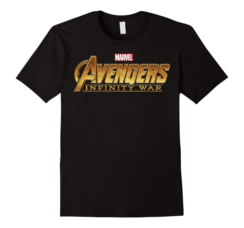 Marvel Avengers Infinity War Golden Logo Graphic T-shirt