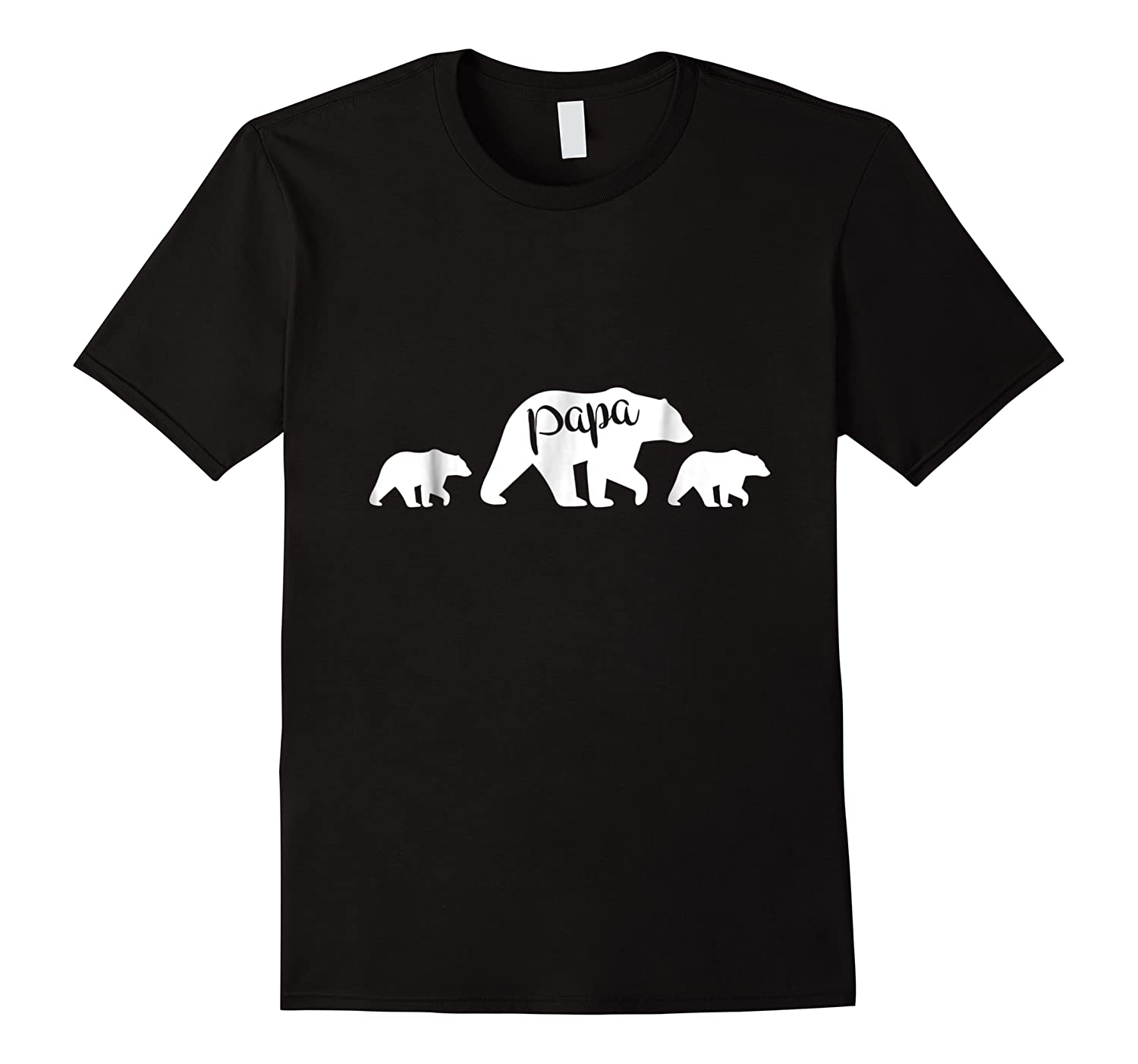 Papa Bear T Shirt With Two Cubs Father S Day Dad
