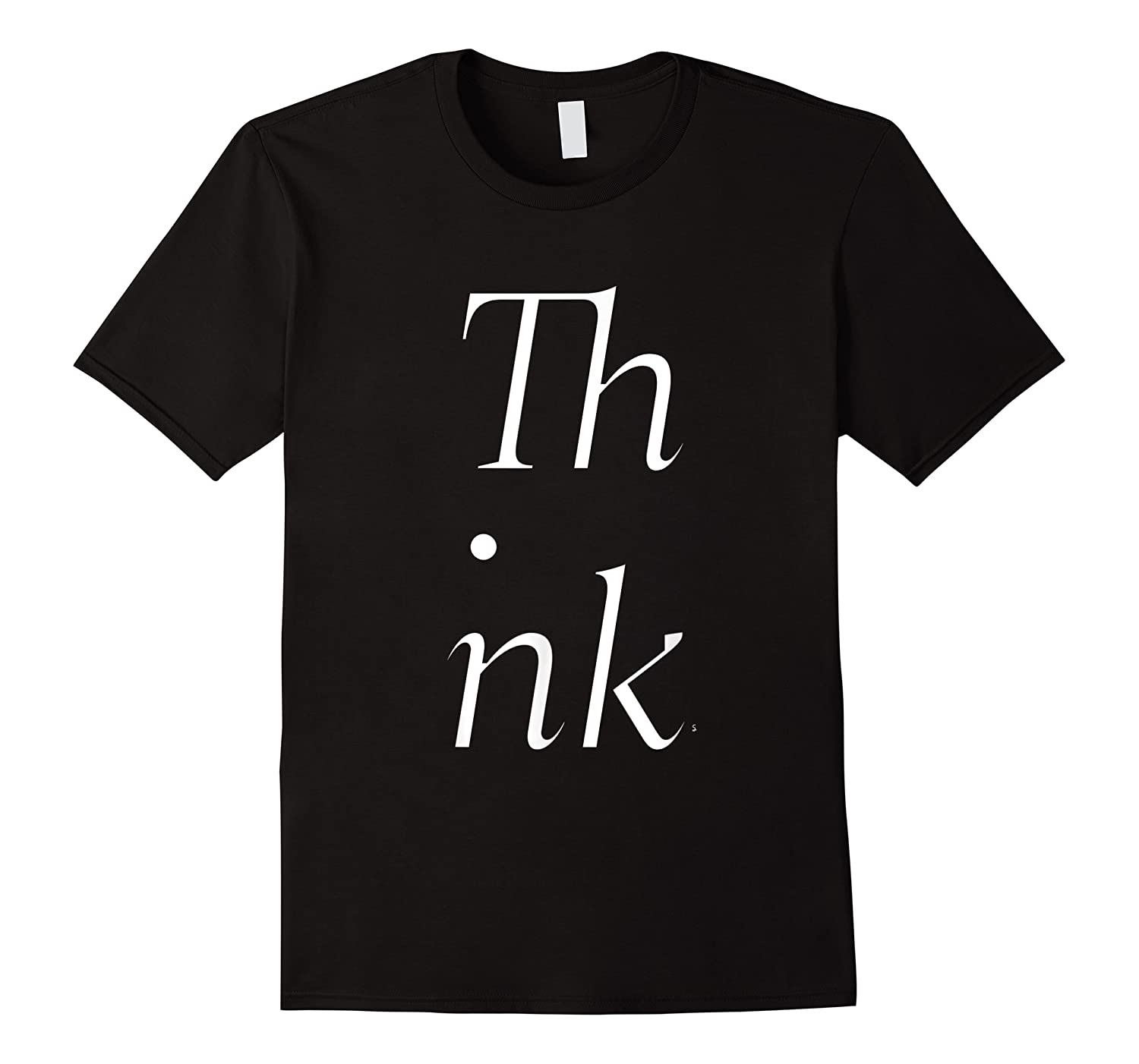 Think Stacked Puzzle Decode Typographic Gift T Shirt