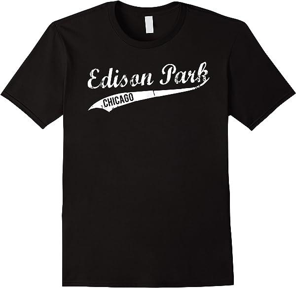 Chicago Edison Park Neigrhood Vintage Tshirt