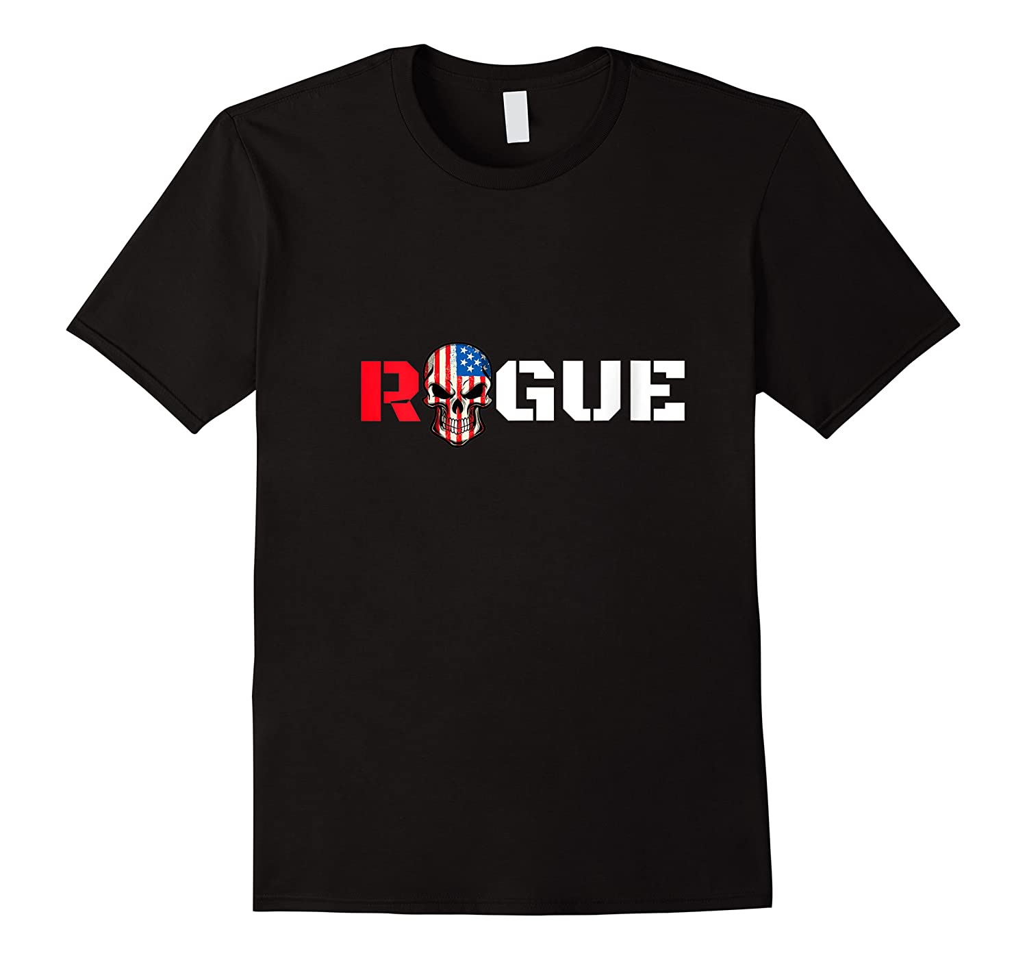 Rogue Life Armed Forces Military Gaming Gym Bad Boy Tee Army T-shirt