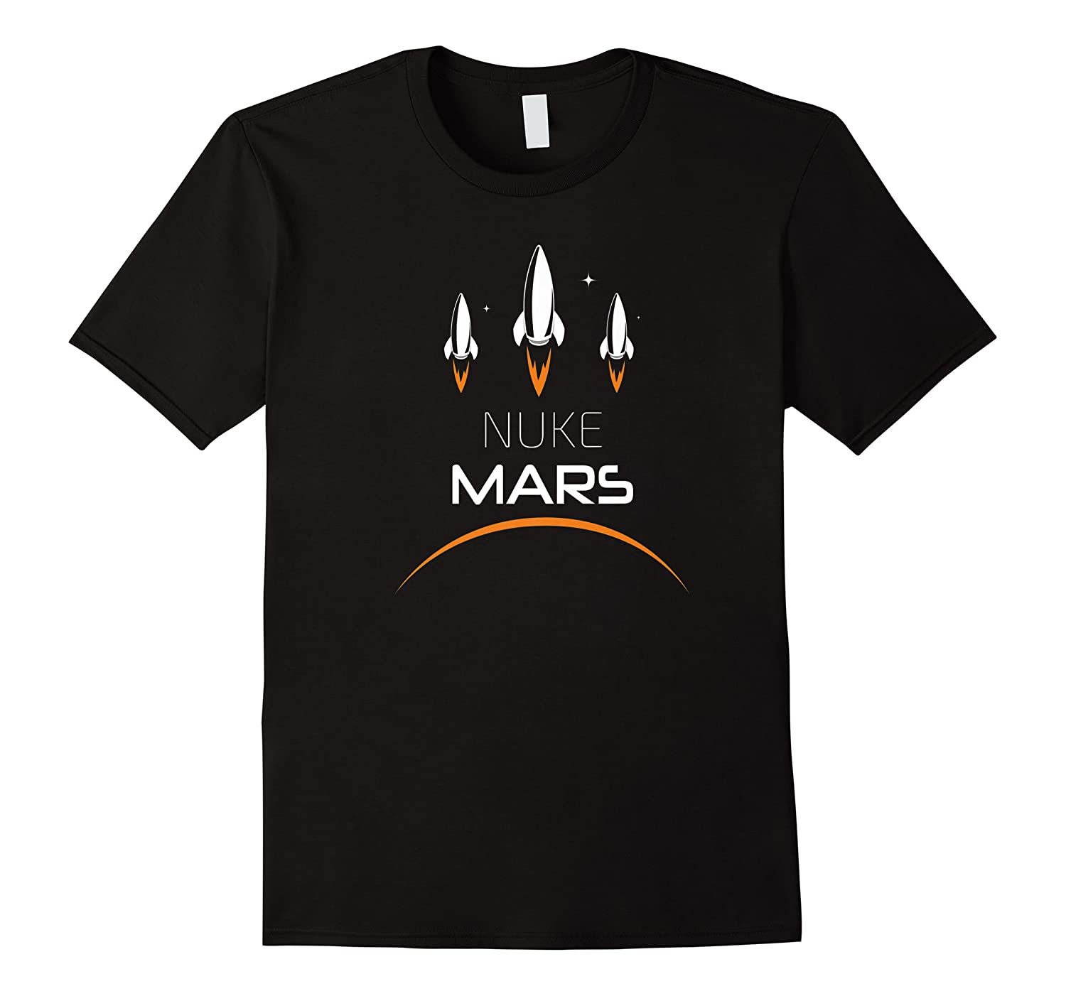 Nuke Mars Space Exploration Shirts