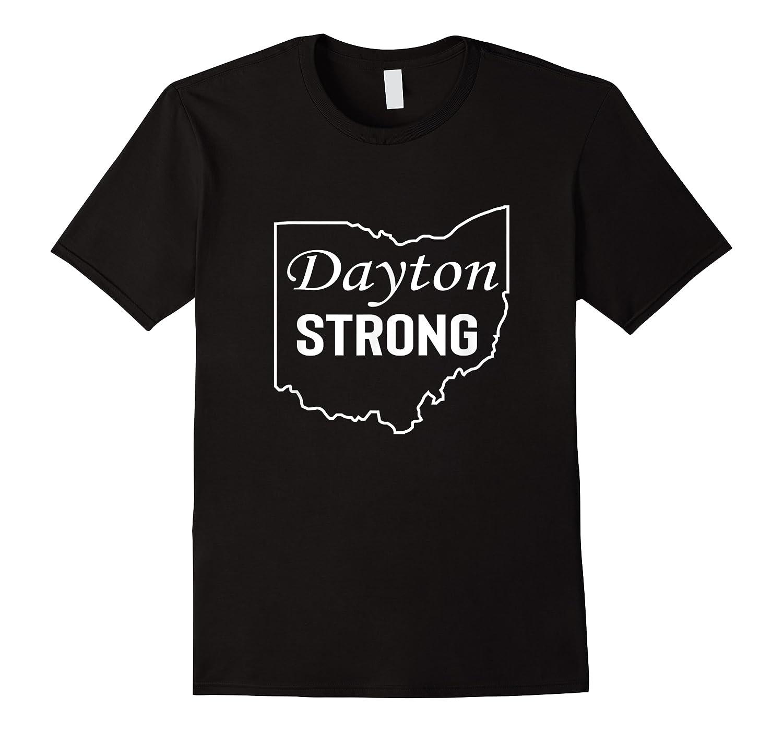 Dayton Strong Dayton State Map Shirts