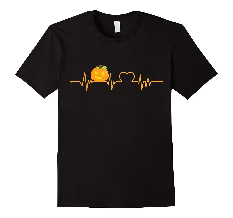 Funny Pumpkin Heartbeat Halloween Costume Shirts