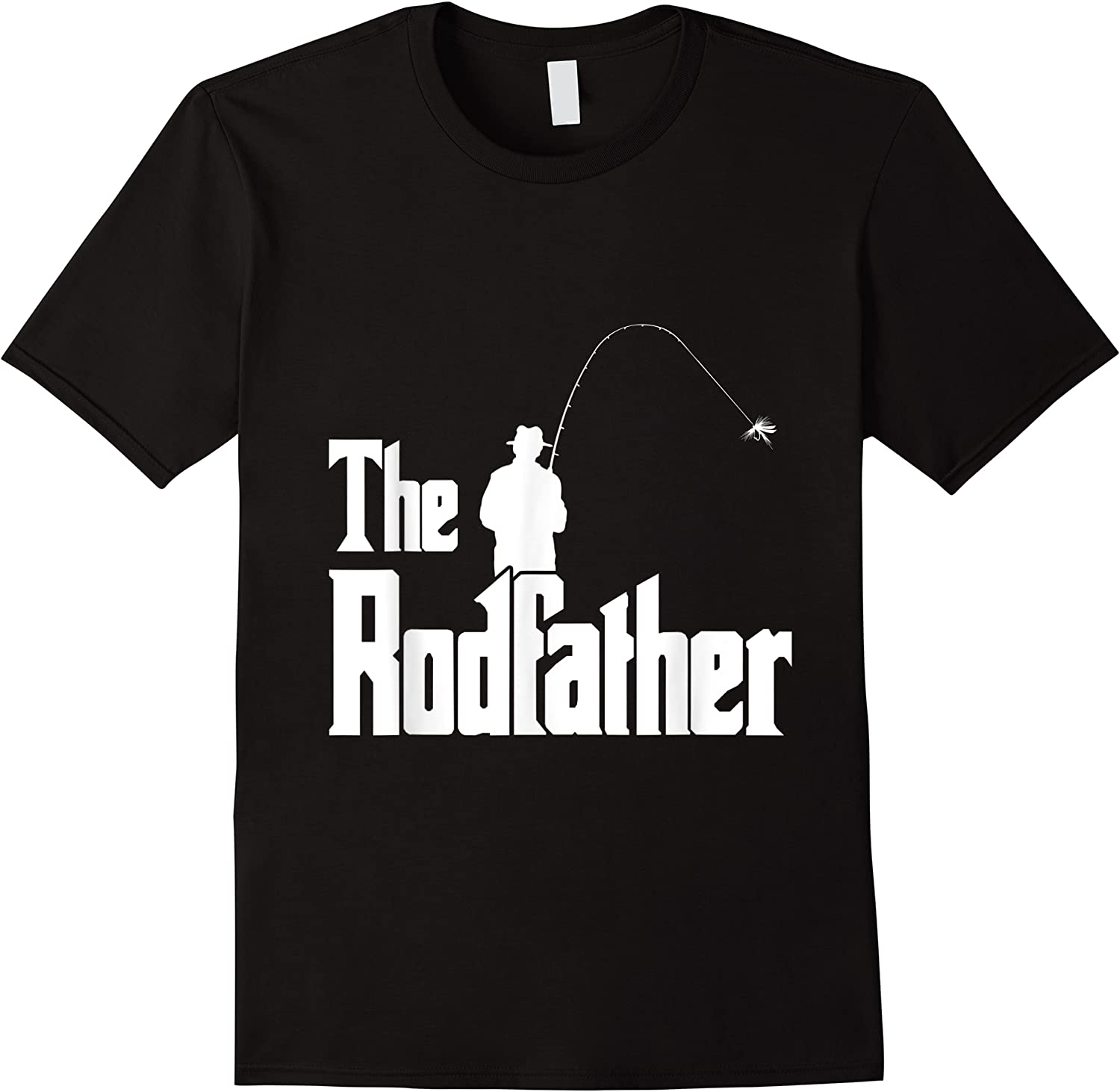 The Rodfather Is On The River This Christmas T-shirt