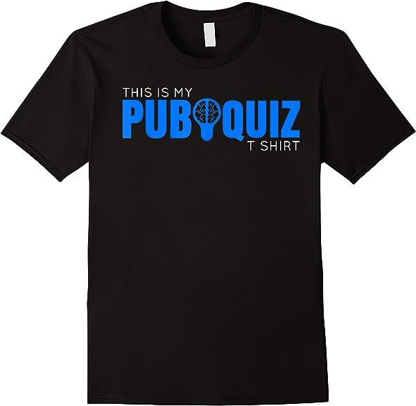 This Is My Pub Quiz T Shirt - Pub Quiz Master & Team