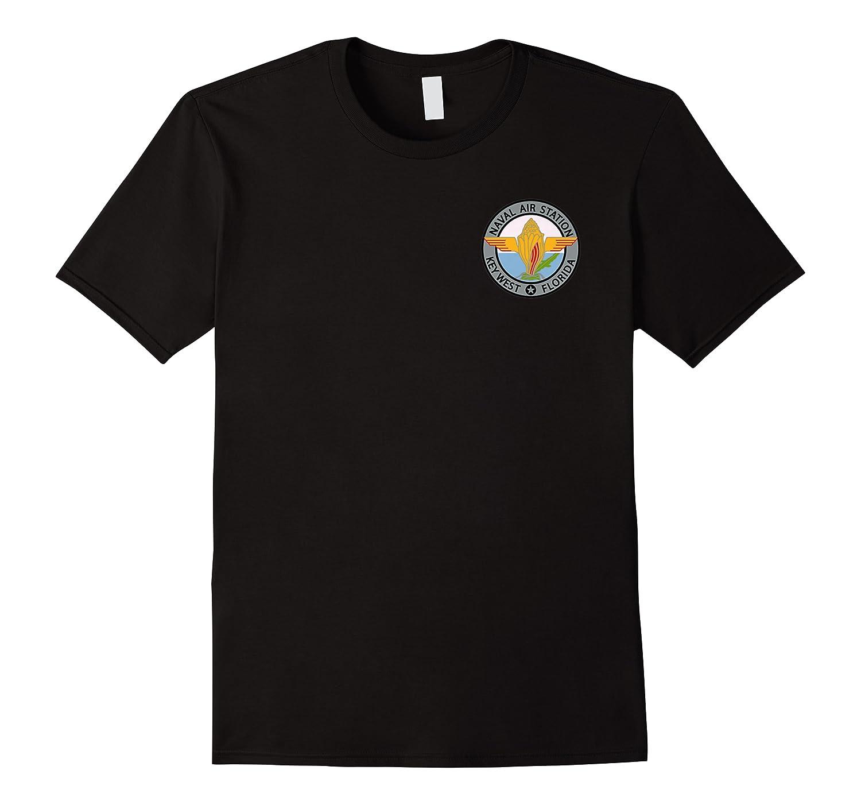 Naval Air Station Nas Key West Navy Military Veteran Patch Premium T-shirt