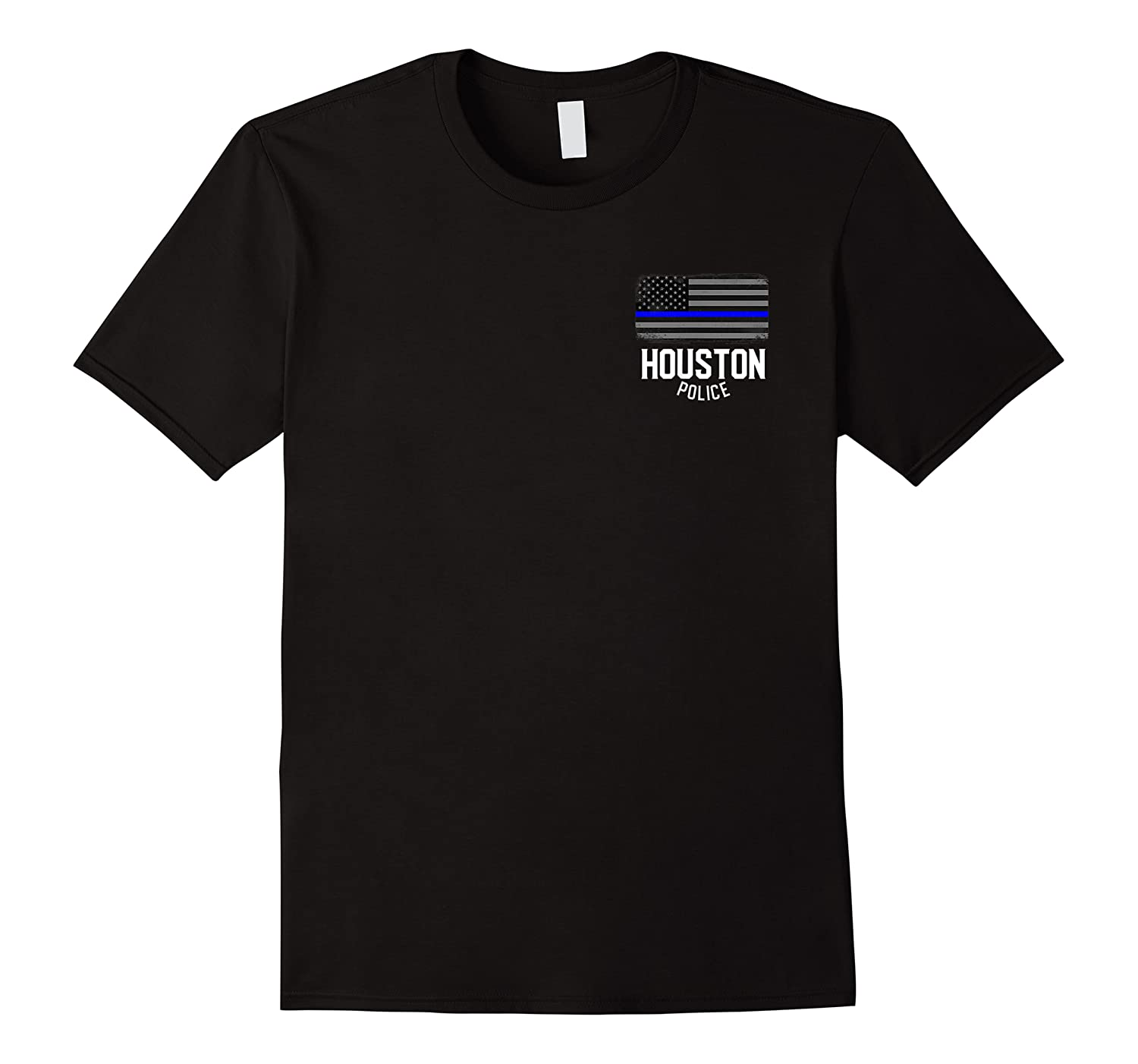City Of Houston Police Officer Texas Policeman T Shirt