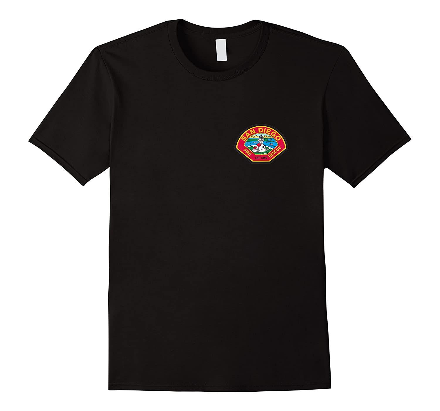San Diego Fire Rescue Department Sdfd Shirts
