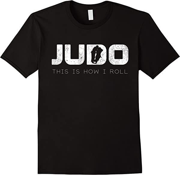 This Is How I Roll Vintage Martial Arts Judo Shirt