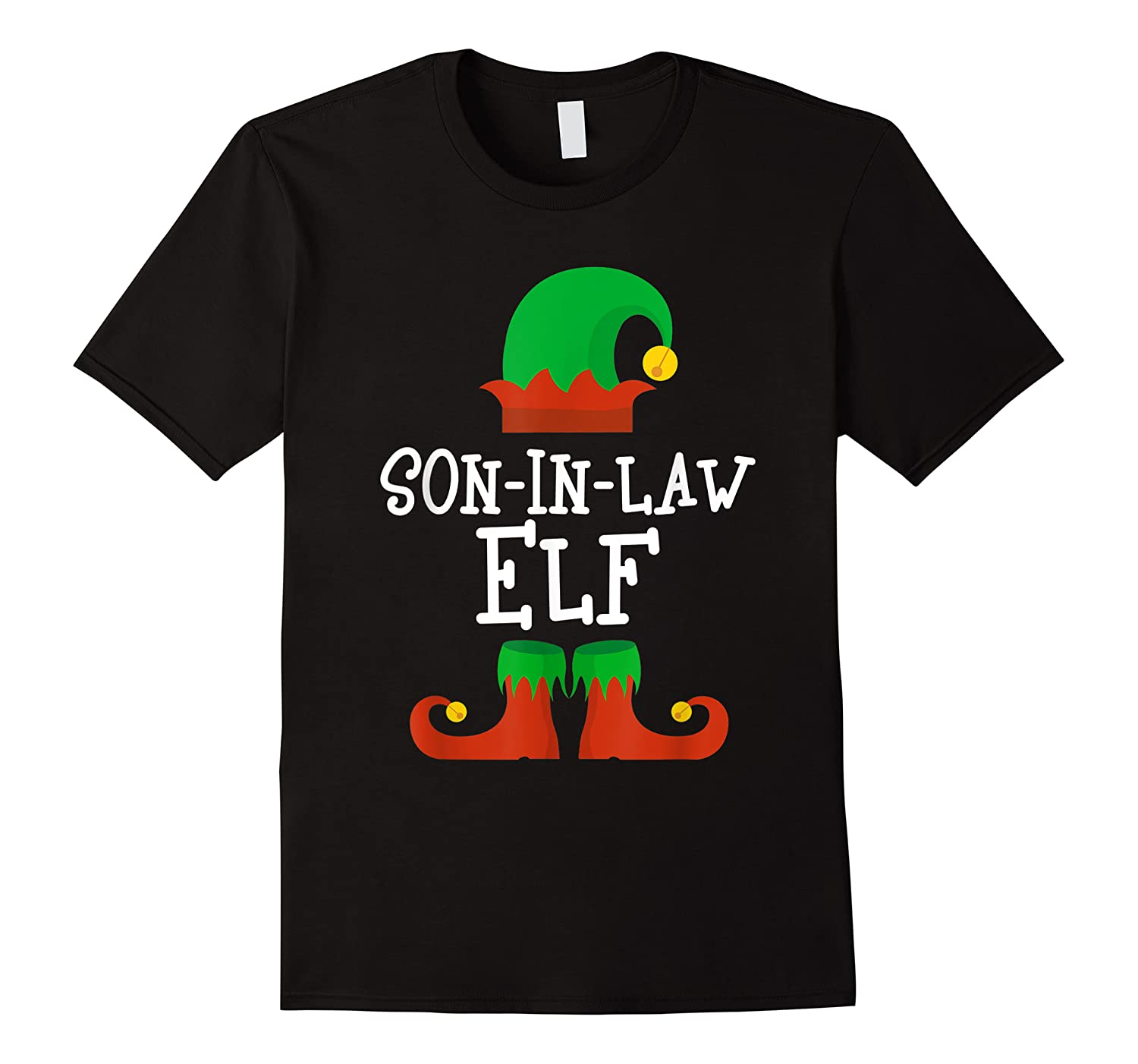 Son-in-law Elf Christmas Funny T-shirt