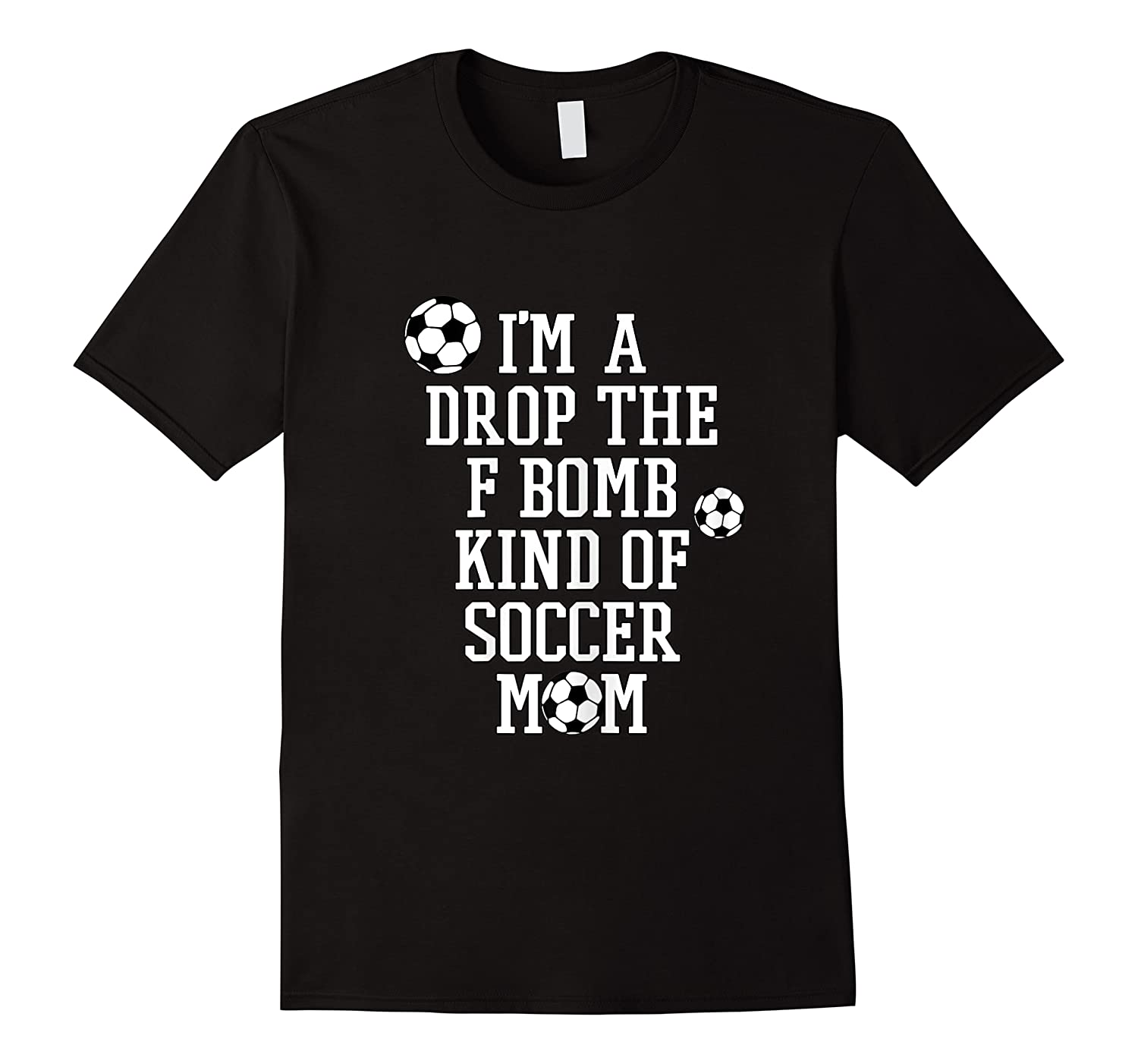 F Bomb Soccer Mom T Shirt Funny Cute Gift For Mom Of