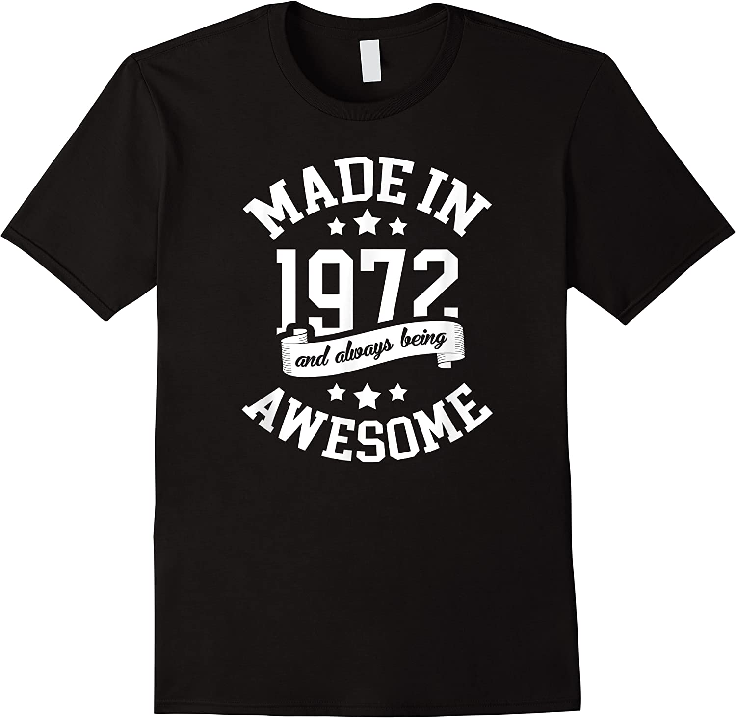 Made In 1972 49 Years Old Bday 49th Birthday Gift T-shirt