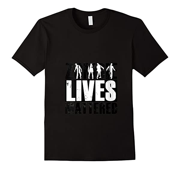 Zombie Lives Mattered Funny Zombie Lover Halloween Mom T Shirt