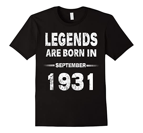 Lendends Are Born In August 1931 Shirt 88th Birthday Gifts